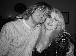Joe Walsh with his former girlfriend Stevie Nicks