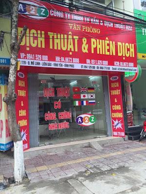 Công ty dịch thuật công chứng Thái Nguyên nhanh chóng chuẩn xác chuyên nghiệp