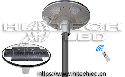 UFO LED solar area light