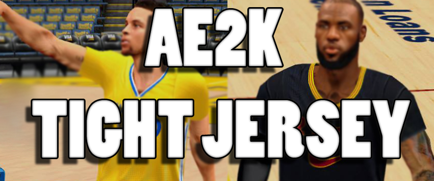 ... AE2K Tight Jersey FOR 2K14 NBA 2K Updates Roster Update ff49f4731