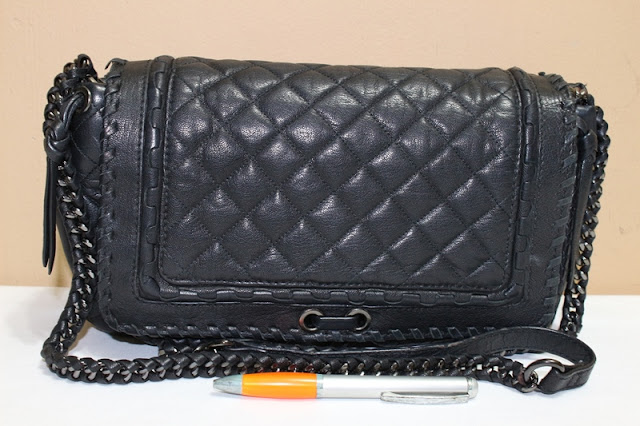 Tas Second Wishopp  Jual tas ZARA Leather quilted chain bag Rp.1.200.000 1b360d377c