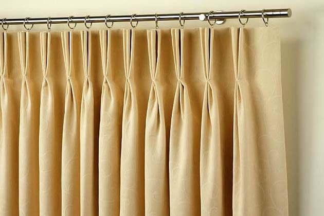 Pencil pleat curtains in Dubai