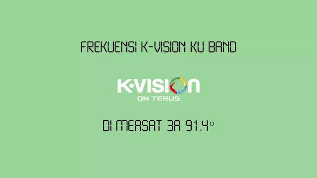 Frekuensi K-Vision Ku Band di Measat 3A