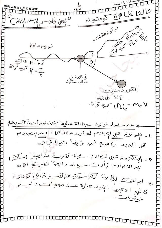 فزياء : الفصل الخامس الدرس الثاني