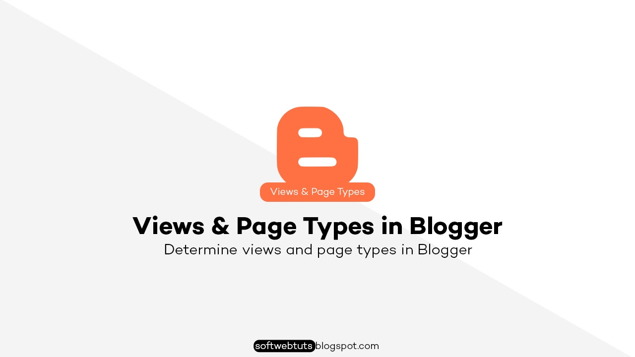 Views and Page Types in Blogger