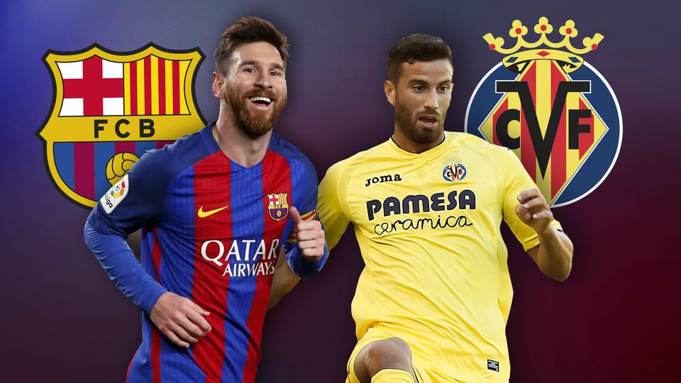 برشلونة وفياريال ميسي 02-12-2018 الدوري الاسباني
