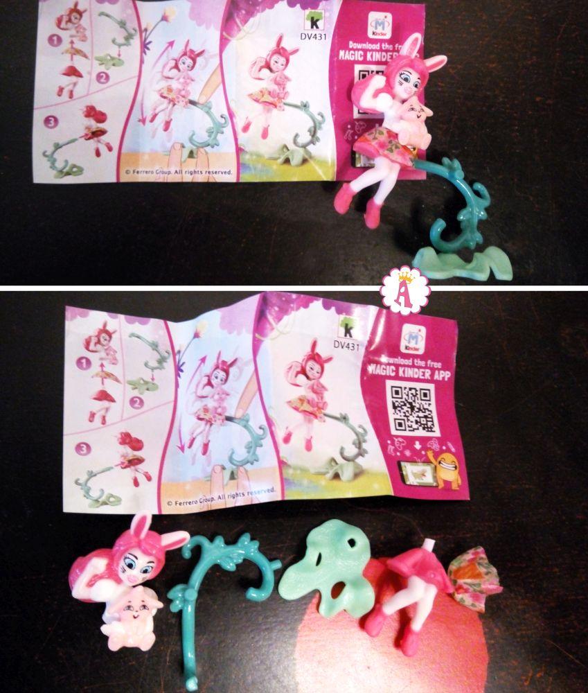 Кукла зайка Bree Bunny и Twist (Бри Кроля с Твистом) DV431 киндер сюрприз Энчантималс