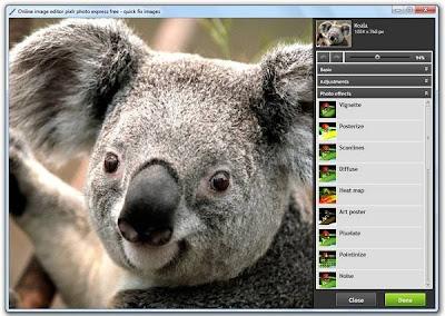 Pixlr: interface simples, mas muita flexibilidade