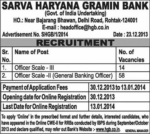 haryana garmin bank online form