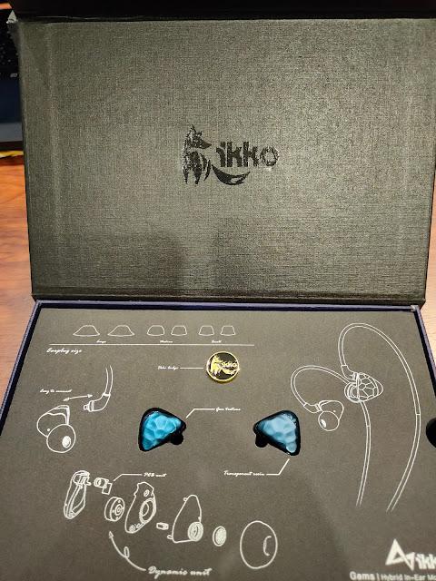 ikko OH1S 高解析單鐵單動圈 入耳式監聽耳機,MMCX可換線耳機 - 7