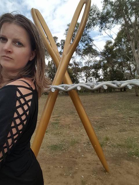 Jive by Grank Fink   Werribee BIG Knitting Needles