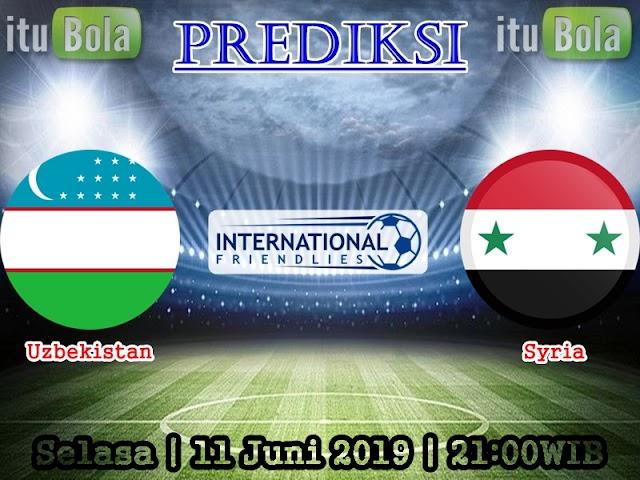 Prediksi Uzbekistan Vs Syria - ituBola