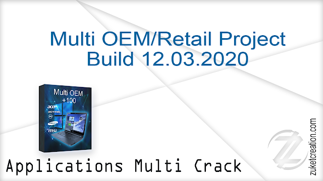 Multi OEM – Retail Project Build 12.03.2020