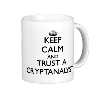 """Keep Calm And Trust a Cryptanalyst"" Téchne Digitus InfoSec"