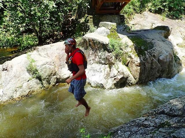 Kedah | Meredah jeram @ White water rafting di Sungai Sedim