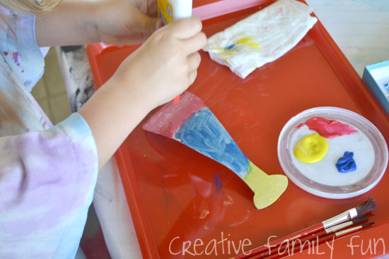 Cardboard Baseball Bat Kids Craft - Creative Family Fun