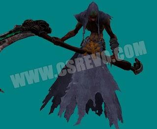Skin Zombie - King Ghost + Knife CS 1.6