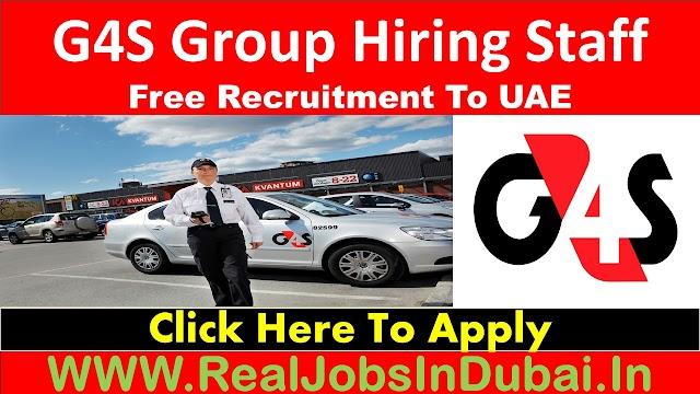 G4S Big Company Jobs In Dubai - UAE 2021