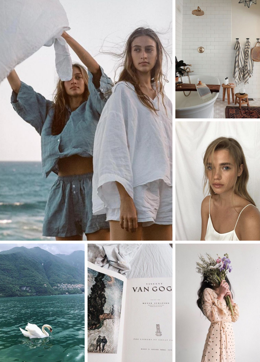 June Mood board | Simplicity