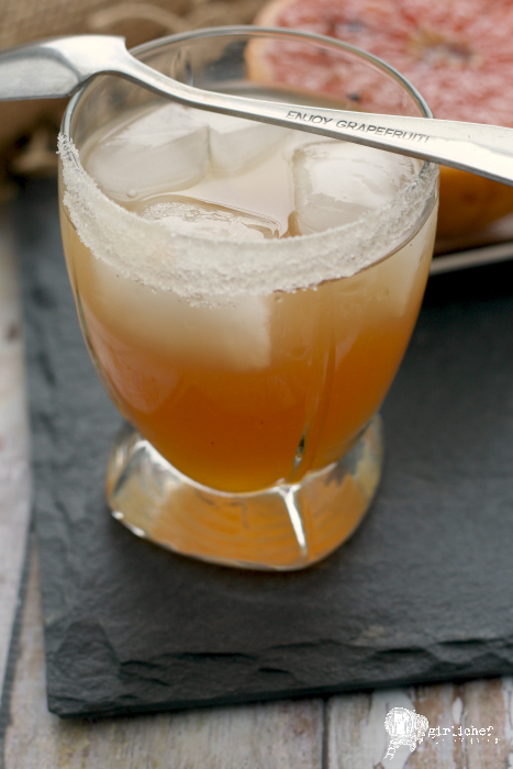 Caramelized Grapefruit Margarita