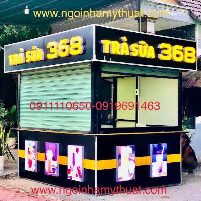 Quầy trà sữa, cafe đẹp tại Thủ Dầu Một