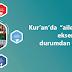 """Kur'an'da  """"aileni"""" ifadesi ekseninde kötü durumdan uzaklaşma"""