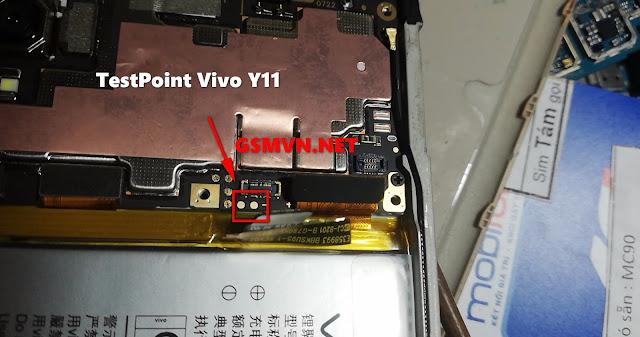 Testpoint Vivo Y11 PD1930F