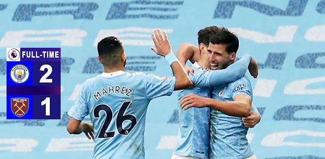 Manchester City vs West Ham United Highlights