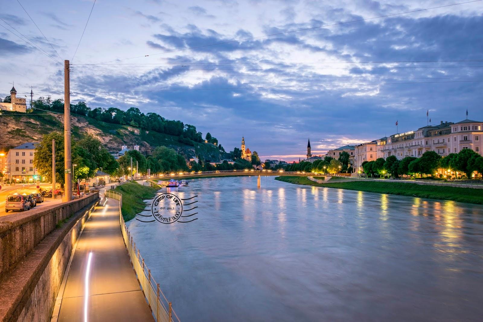 One Day in Salzburg, Austria