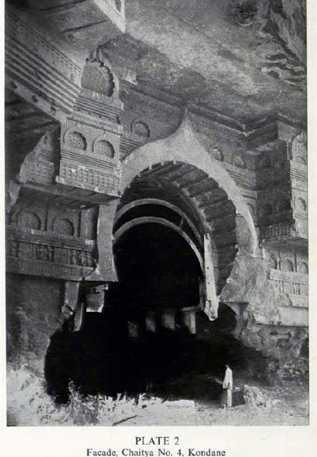 महाराष्ट्रातील 'बौद्ध लेण्यांची' कृष्णधवल छायाचित्रे
