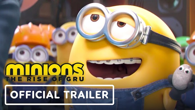 Minions: The Rise of Gru (2020) | Animation Movie Trailers | Steve Carell, Lucy Lawless, Taraji P. Henson