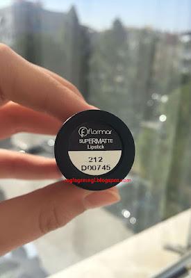 Flormar-supermatte-212-ruj