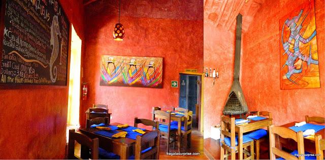 Restaurante Inkazuela, Cusco, Peru