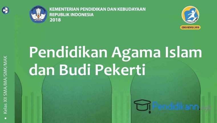Buku Paket Agama Islam Kelas 12 Kurikulum 2013