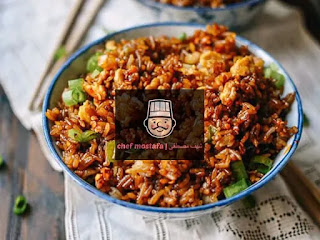 soy sauce Rice