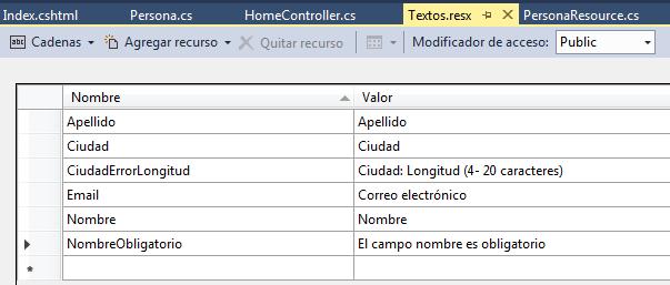 Archivo de recursos en español