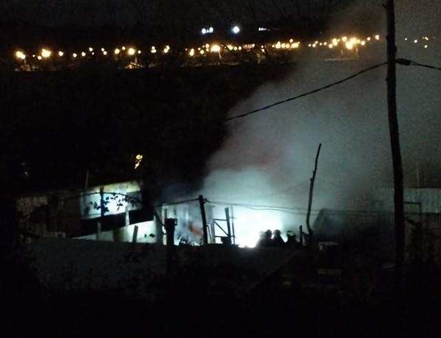 Una mujer detenida tras incendio de madrugada en Osorno