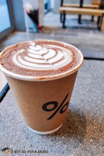 Mocha Coffee of % Arabica Cafe, W City Center