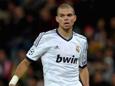 Real Madrid defender, Pepe