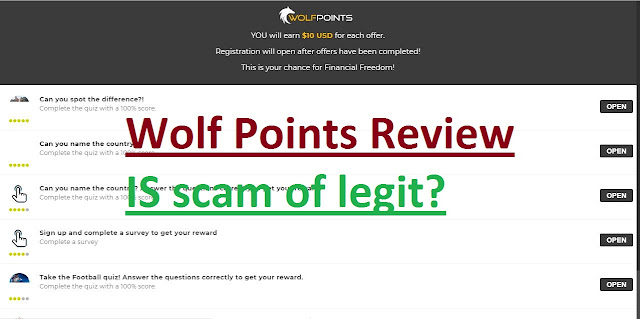 WolfPoints Review-is Scam or Legit Rewards Website