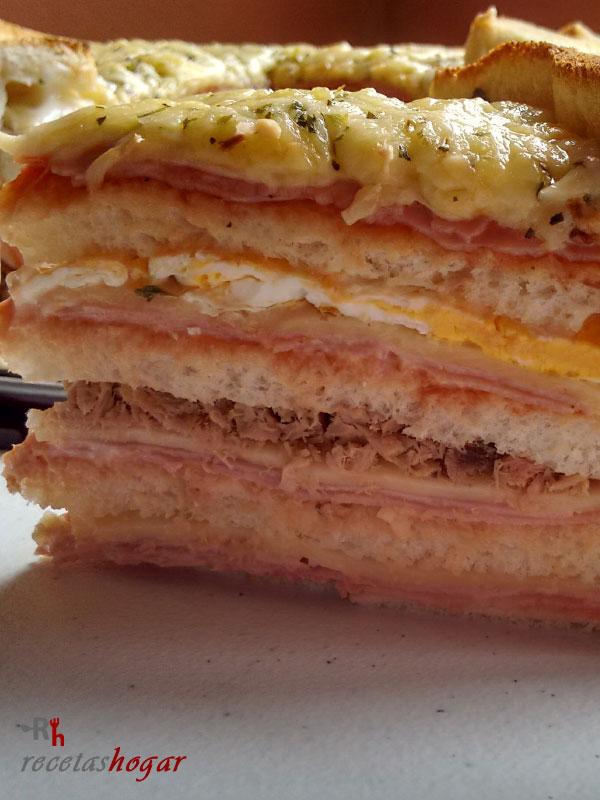 Sándwich gigante
