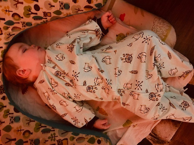 Schlafen im Wombambino