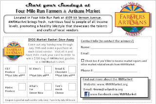 Four Mile Run Farmers and Artisans Market: 4MRMarket Report
