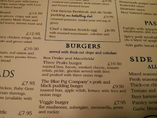 The three peaks burger
