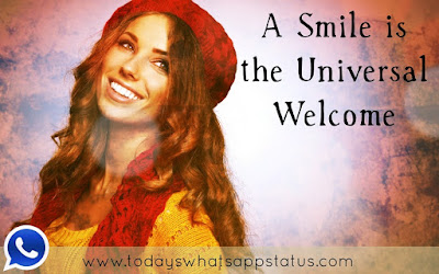 100 Cute Smile Quotes Status for Whatsapp in English