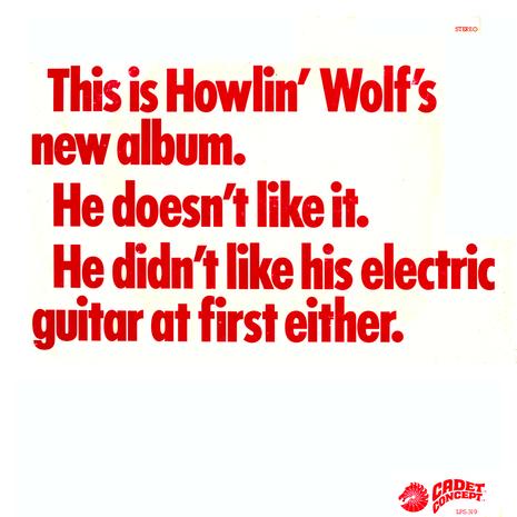 Howlin' Wolf - The Howlin' Wolf Album (1969)