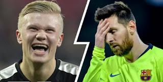 Haaland set to make more money than Messi at Barca