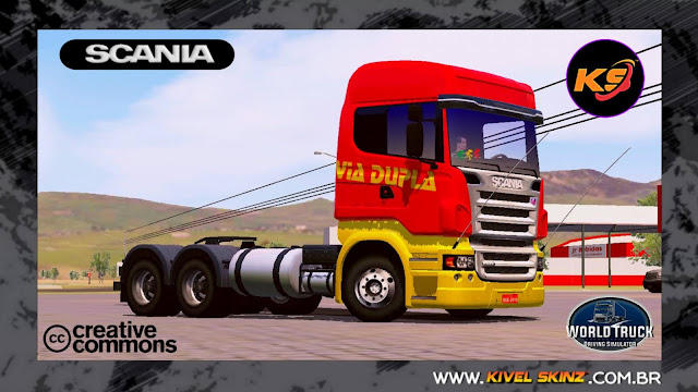 SCANIA R620 - VIA DUPLA TRANSPORTES