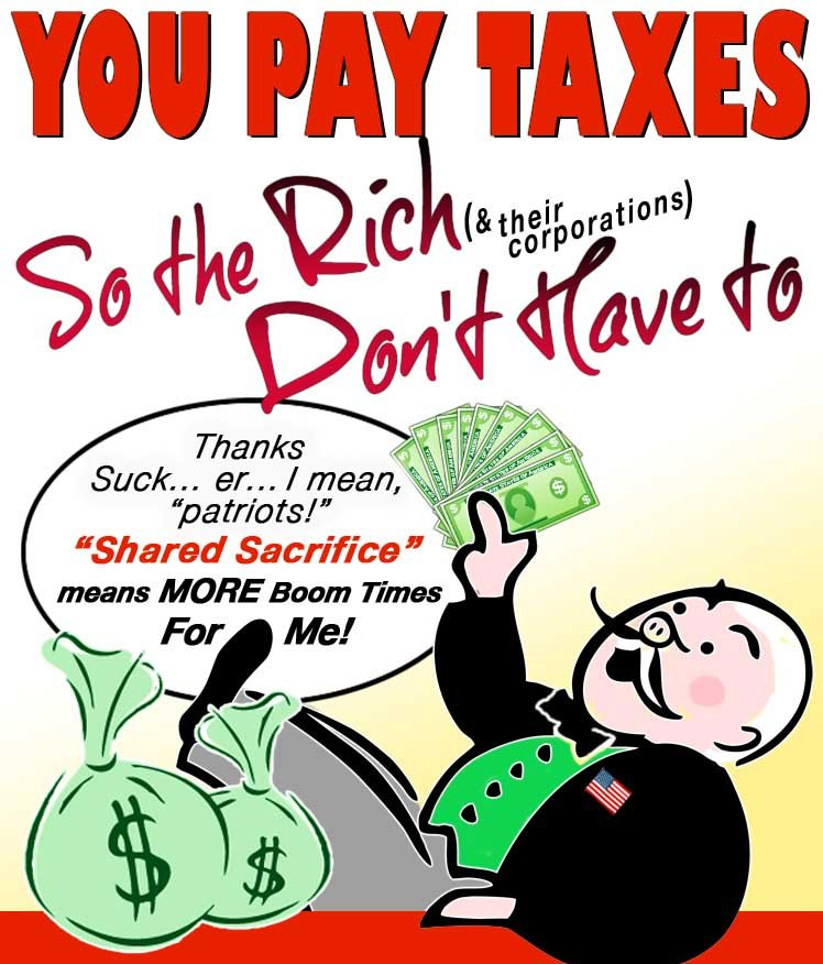 The O'Zone: Taxes The Rich Don't Pay Could Eliminate The