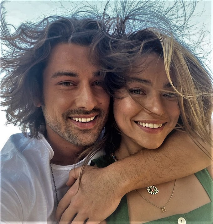 Alp Navruz and Ayça Ayşin Turan share their first picture together and fuel relationship rumors